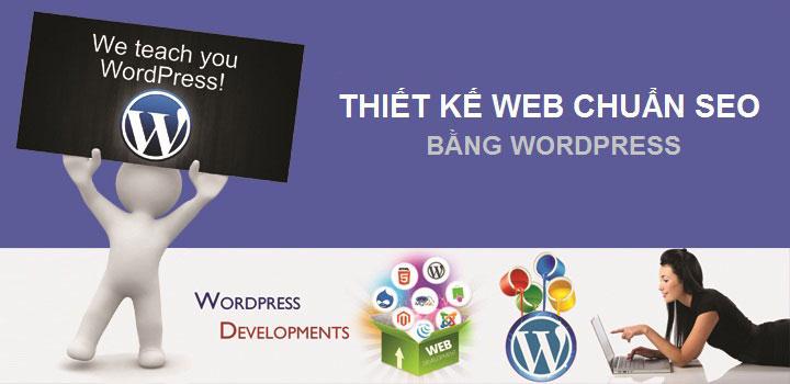 Dịch vụ thiết kế web bằng wordpress chuẩn seo tại BICTweb.vn
