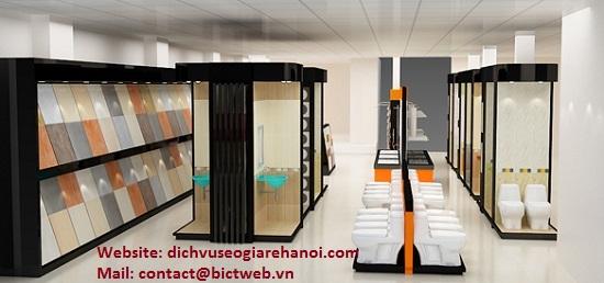Dịch vụ SEO website vật liệu xây dựng