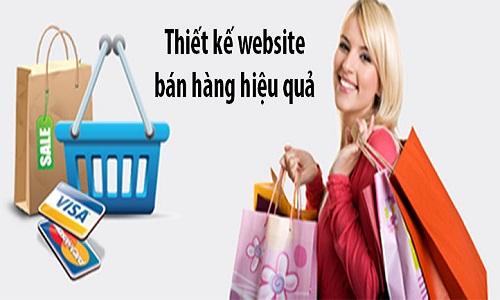 Thiết kế website bán hàng chuẩn SEO
